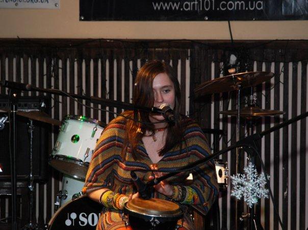 Полина Даэвен Свиридова в клубе Филин (Киев)